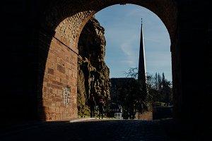 Schloss Erbaut Bruecke