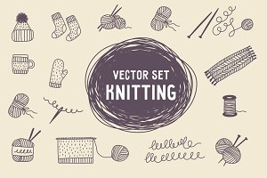 Vector set knitting