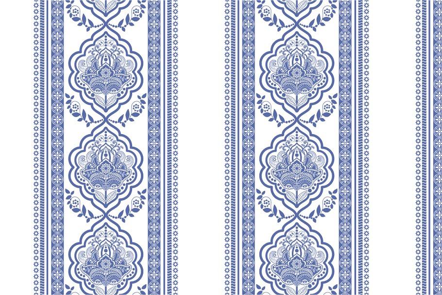 4 Indian Line Patterns
