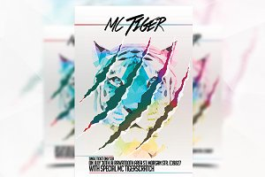 MC Tiger - Flyer Template