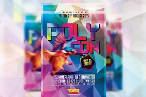 Polygon - Flyer Template