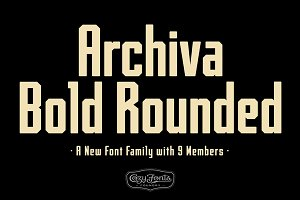 Archiva Bold Rounded