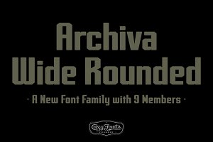 Archiva Wide Rounded