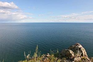 View on the Baikal lake