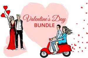 Romantic Couples & Valentines Cards