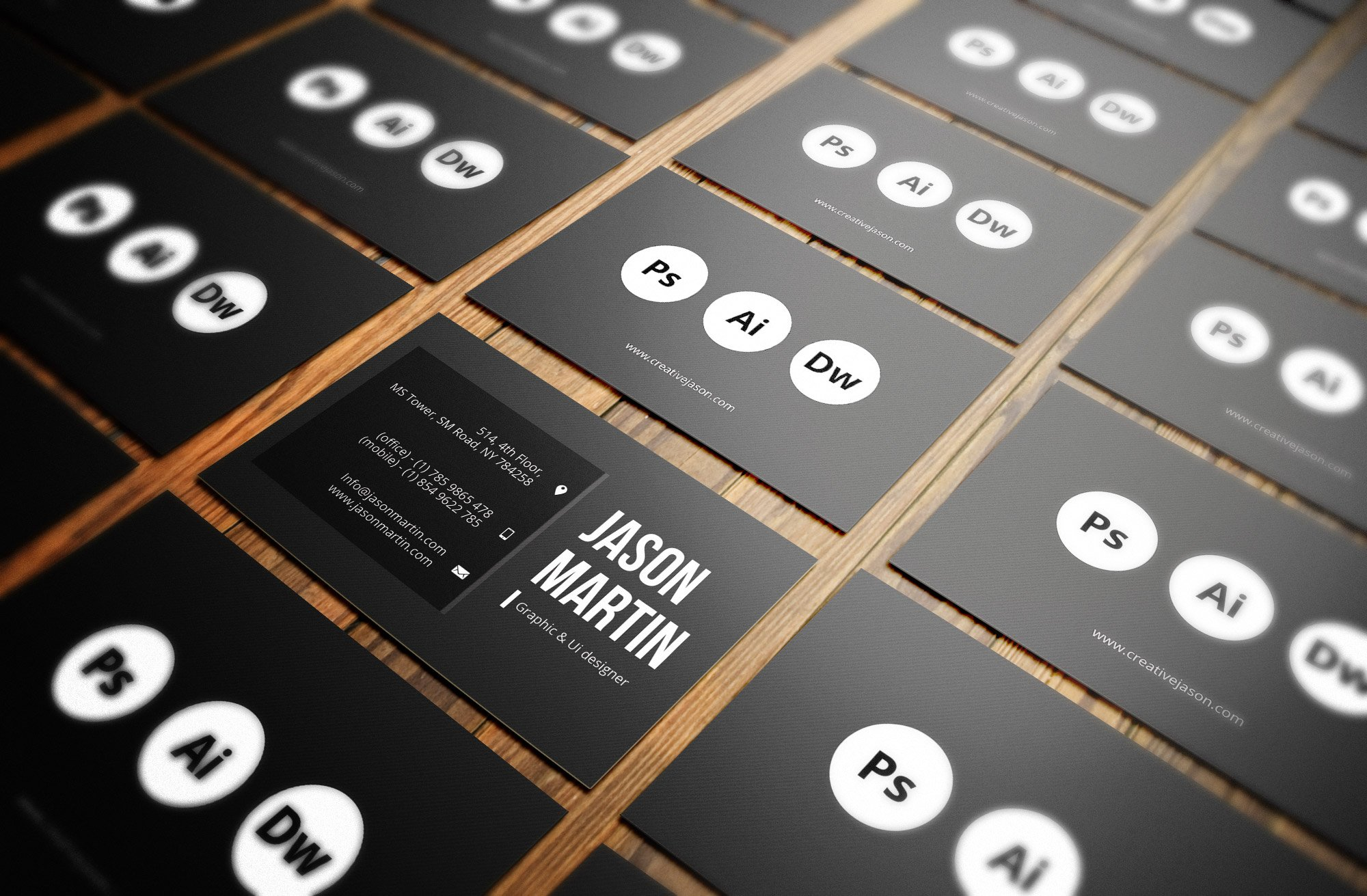 Creative individual business card business card templates creative individual business card business card templates creative market reheart Image collections
