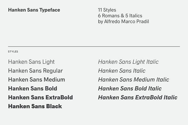 HK Explorer Typeface ~ Sans Serif Fonts ~ Creative Market