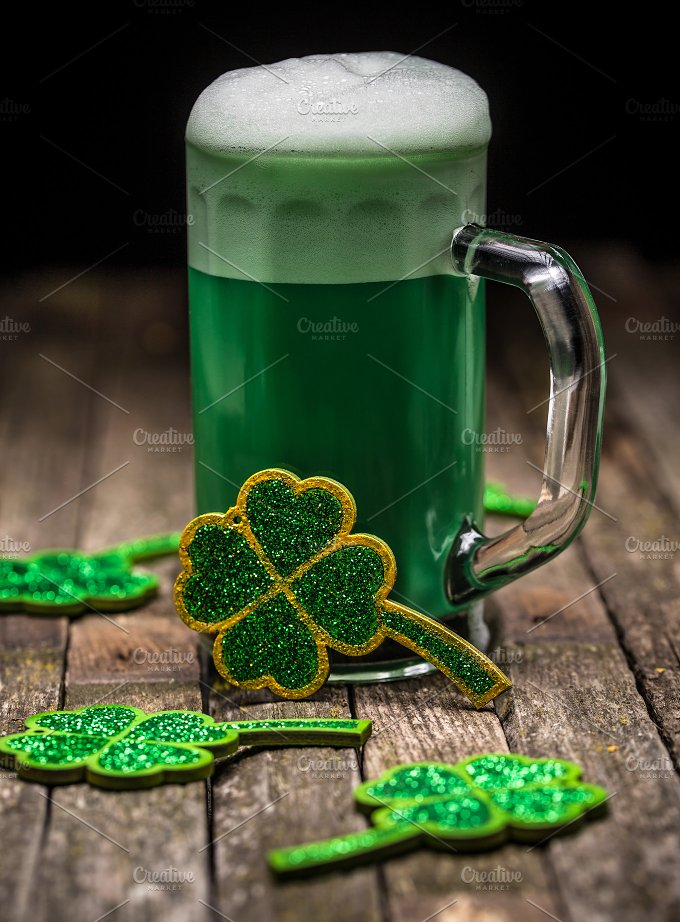 St. Patrick Day concept - Holidays