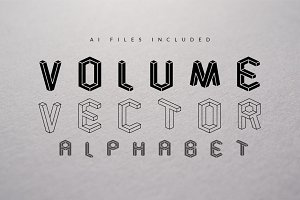 Volume Vector Alphabet