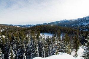 Snowy Estes Park