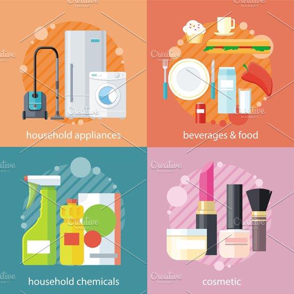 Household Beverages Food Cosmetic