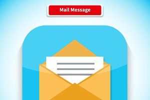Mail Message App Icon