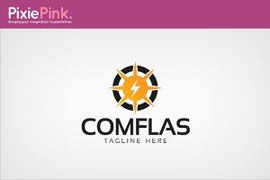 Com Flas Logo Template