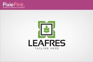 Leaf Fresh Logo Template