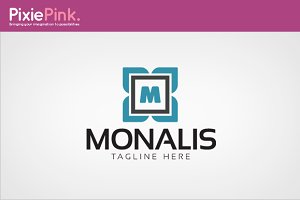 Monalis Logo Template