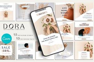 DORA - Instagram Templates | CANVA