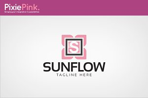 Sun Flow Logo Template