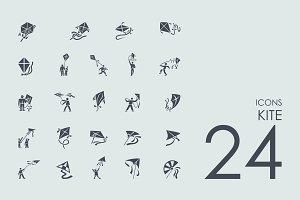 24 Kite icons