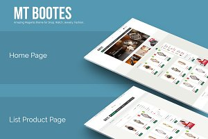 Responsive magento theme MT Bootes