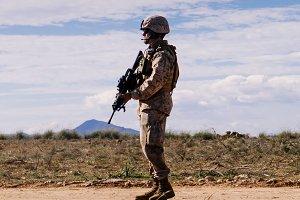 Marine soldier II