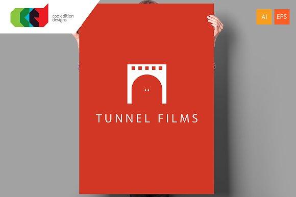Tunnel Films - Logo Template