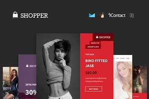 shopper Email + Theme Builder