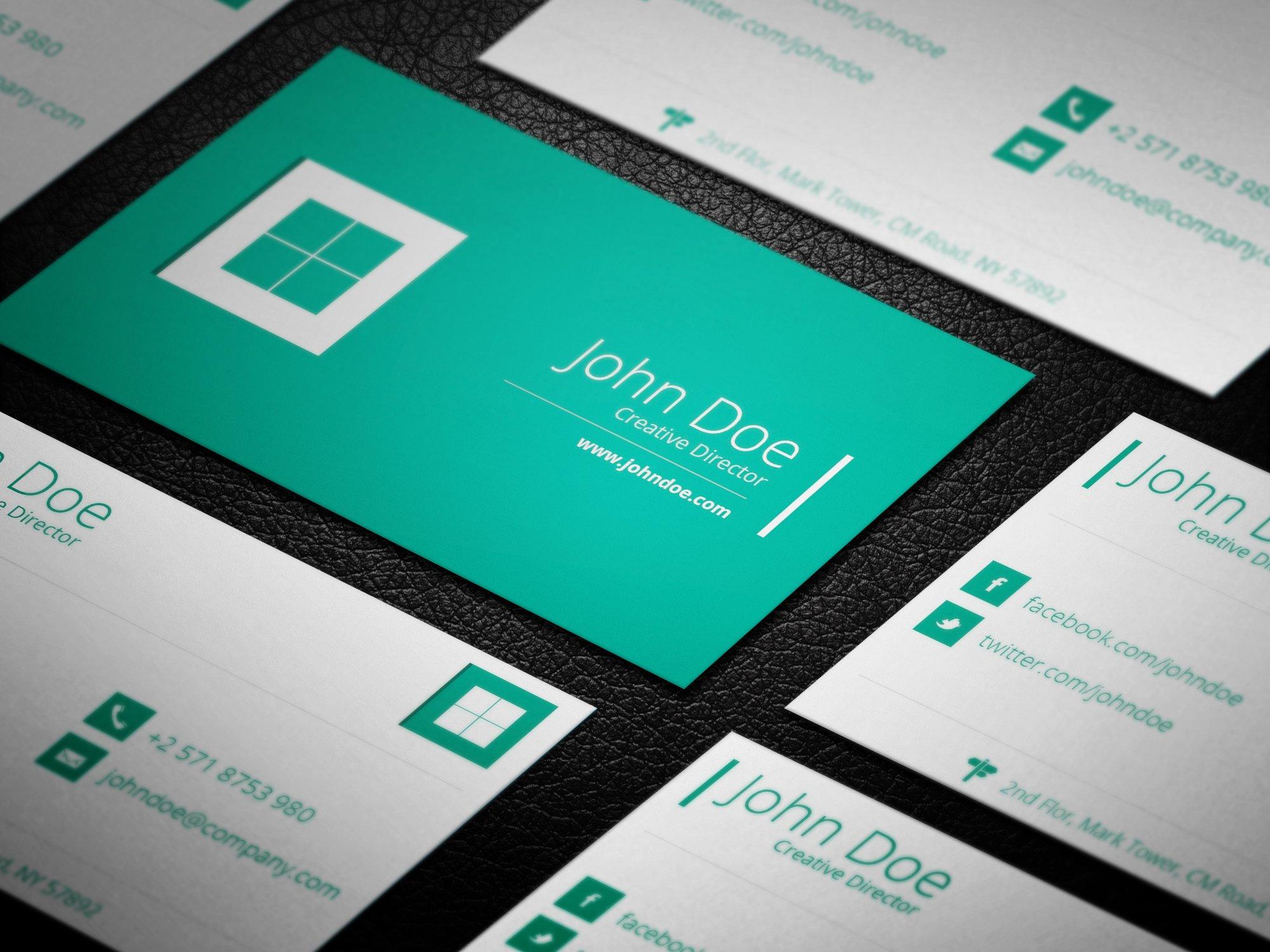 Flat metro business card business card templates creative market magicingreecefo Image collections