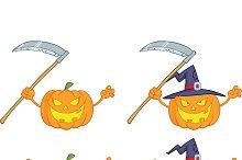 Halloween Pumpkins Collection - 4