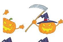 Halloween Pumpkins Collection - 5