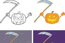 Halloween Pumpkins Collection - 6