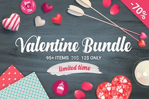 70% Off - Valentine Big Bundle