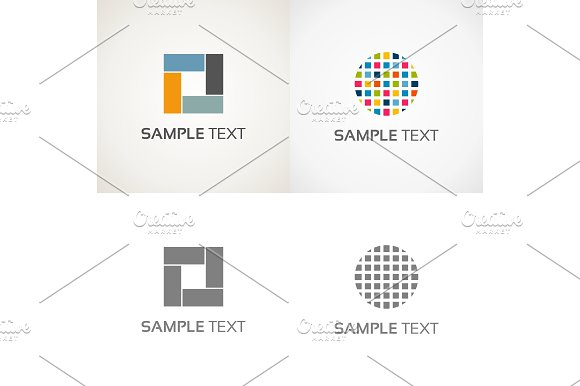 Abstraction logo in Logo Templates - product preview 1