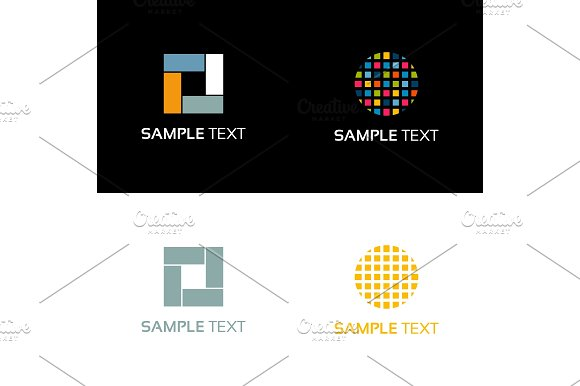 Abstraction logo in Logo Templates - product preview 2