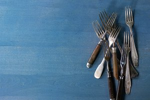 Set of vintage forks