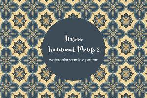 The Italian Motif Seamless Pattern 2