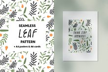 Leaves - Seamless Pattern by  in Graphics