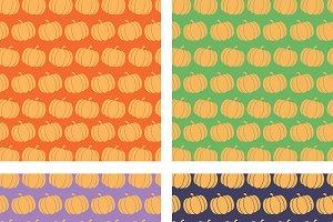 Pumpkin Backgrounds Collection