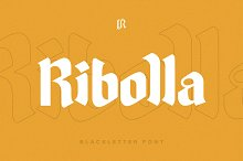 Ribolla Font by  in Fonts