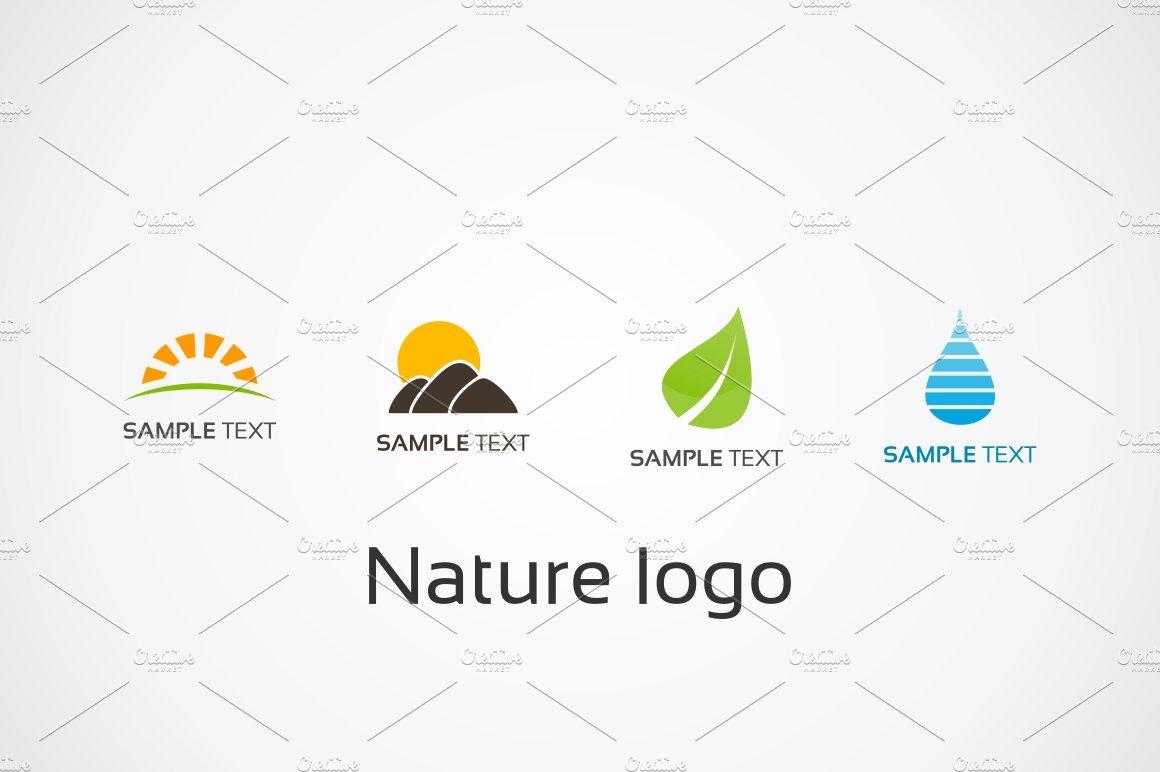 Nature logo ~ Logo Templates ~ Creative Market