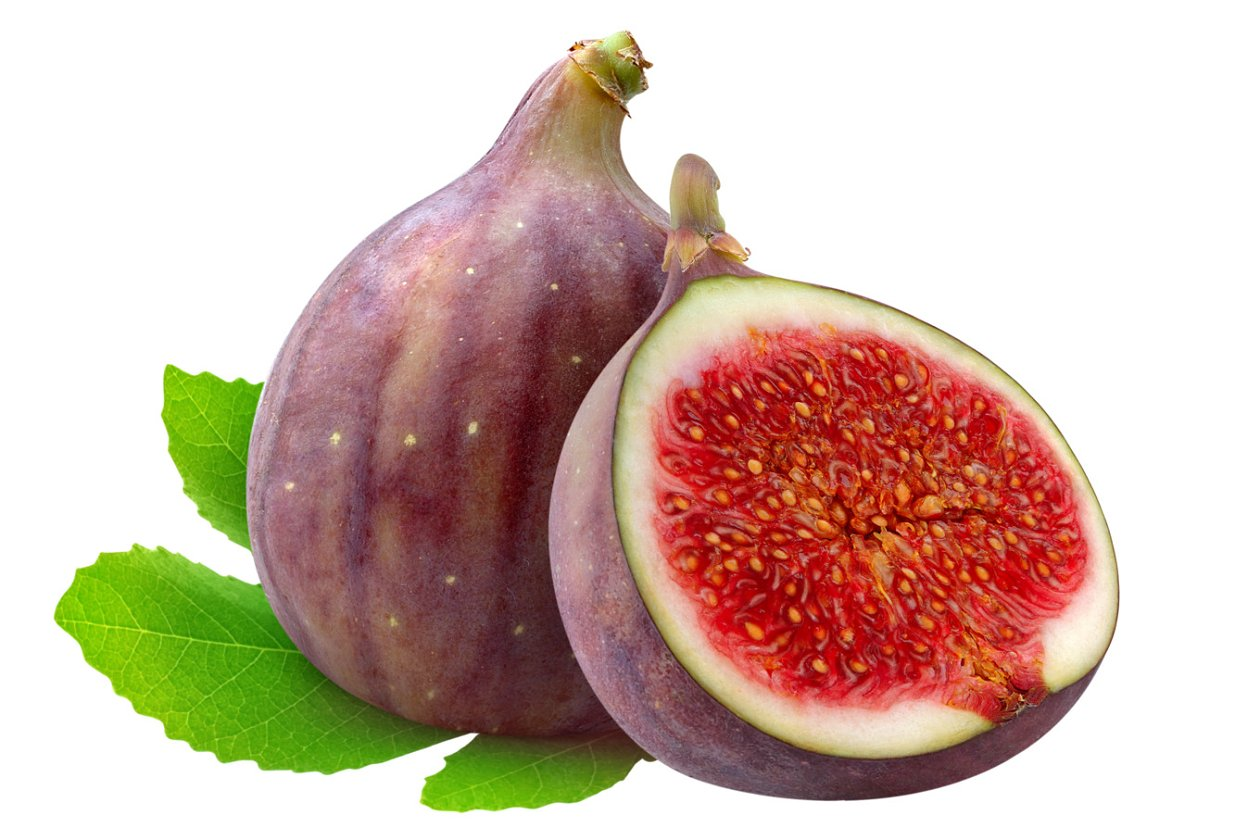 how to cut fresh figs