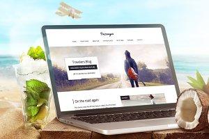 Passenger-Travelers WordPress Theme