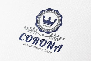Corona Crest Logo