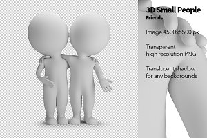 3D Small People - Friends