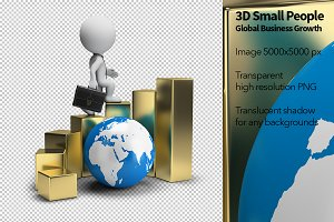 3D Small People - Global Growth