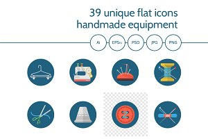 Accessories for handmade 39 icons