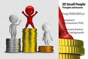 3D Small People - Income