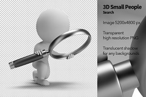 3D Small People - Search