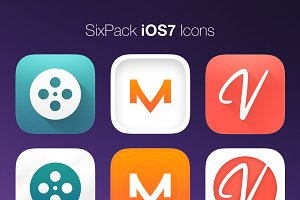 SixPack iOS7 Icons