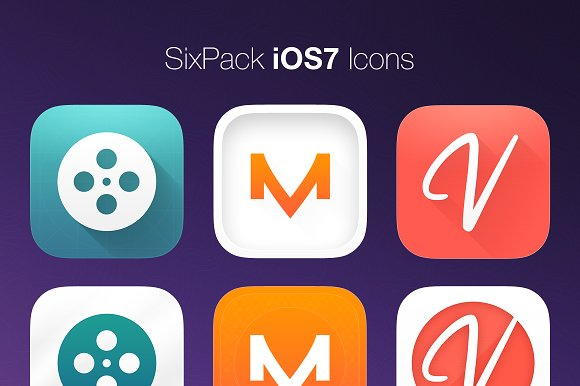 SixPack iOS7 Icons in Icons