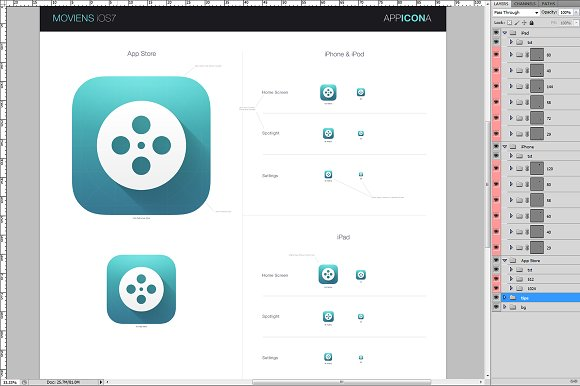 SixPack iOS7 Icons in Icons - product preview 1